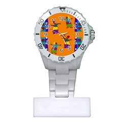 A Colorful Modern Illustration For Lovers Plastic Nurses Watch