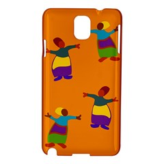 A Colorful Modern Illustration For Lovers Samsung Galaxy Note 3 N9005 Hardshell Case