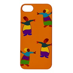 A Colorful Modern Illustration For Lovers Apple iPhone 5S/ SE Hardshell Case