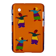A Colorful Modern Illustration For Lovers Samsung Galaxy Tab 2 (7 ) P3100 Hardshell Case