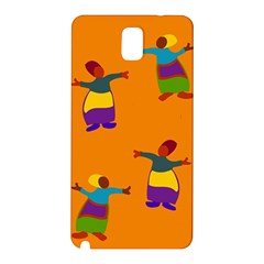 A Colorful Modern Illustration For Lovers Samsung Galaxy Note 3 N9005 Hardshell Back Case