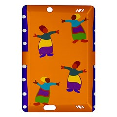 A Colorful Modern Illustration For Lovers Amazon Kindle Fire HD (2013) Hardshell Case