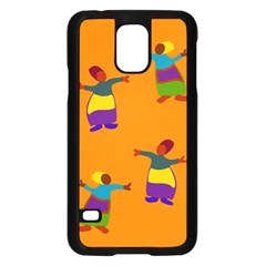 A Colorful Modern Illustration For Lovers Samsung Galaxy S5 Case (Black)