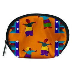 A Colorful Modern Illustration For Lovers Accessory Pouches (Medium)