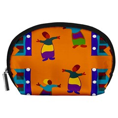 A Colorful Modern Illustration For Lovers Accessory Pouches (Large)