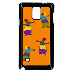 A Colorful Modern Illustration For Lovers Samsung Galaxy Note 4 Case (Black)