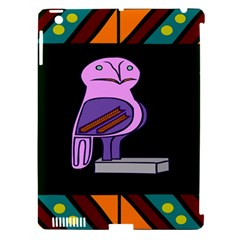 Owl A Colorful Modern Illustration For Lovers Apple iPad 3/4 Hardshell Case (Compatible with Smart Cover)