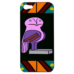 Owl A Colorful Modern Illustration For Lovers Apple iPhone 5 Hardshell Case