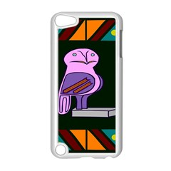 Owl A Colorful Modern Illustration For Lovers Apple iPod Touch 5 Case (White)