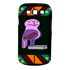 Owl A Colorful Modern Illustration For Lovers Samsung Galaxy S III Classic Hardshell Case (PC+Silicone)