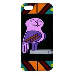 Owl A Colorful Modern Illustration For Lovers Apple Iphone 5 Premium Hardshell Case
