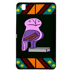 Owl A Colorful Modern Illustration For Lovers Samsung Galaxy Tab Pro 8.4 Hardshell Case