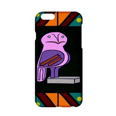 Owl A Colorful Modern Illustration For Lovers Apple iPhone 6/6S Hardshell Case