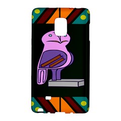 Owl A Colorful Modern Illustration For Lovers Galaxy Note Edge
