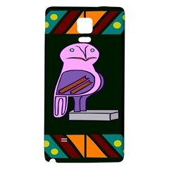 Owl A Colorful Modern Illustration For Lovers Galaxy Note 4 Back Case