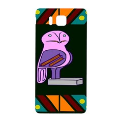 Owl A Colorful Modern Illustration For Lovers Samsung Galaxy Alpha Hardshell Back Case