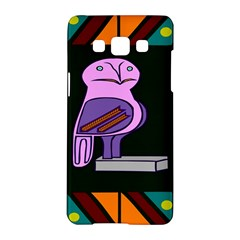 Owl A Colorful Modern Illustration For Lovers Samsung Galaxy A5 Hardshell Case
