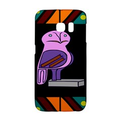 Owl A Colorful Modern Illustration For Lovers Galaxy S6 Edge
