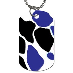 Digital Pattern Colorful Background Art Dog Tag (two Sides)