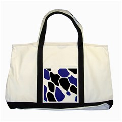 Digital Pattern Colorful Background Art Two Tone Tote Bag