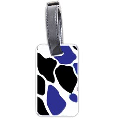 Digital Pattern Colorful Background Art Luggage Tags (two Sides)