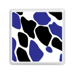 Digital Pattern Colorful Background Art Memory Card Reader (square)