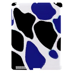Digital Pattern Colorful Background Art Apple iPad 3/4 Hardshell Case (Compatible with Smart Cover)