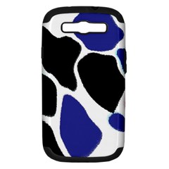Digital Pattern Colorful Background Art Samsung Galaxy S III Hardshell Case (PC+Silicone)