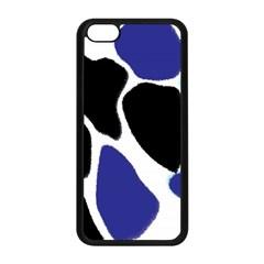 Digital Pattern Colorful Background Art Apple iPhone 5C Seamless Case (Black)