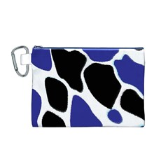 Digital Pattern Colorful Background Art Canvas Cosmetic Bag (m)