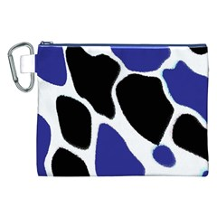 Digital Pattern Colorful Background Art Canvas Cosmetic Bag (XXL)