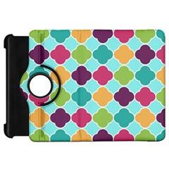 Colorful Quatrefoil Pattern Wallpaper Background Design Kindle Fire HD 7