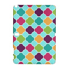 Colorful Quatrefoil Pattern Wallpaper Background Design Galaxy Note 1