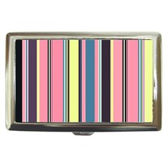 Seamless Colorful Stripes Pattern Background Wallpaper Cigarette Money Cases