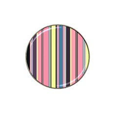Seamless Colorful Stripes Pattern Background Wallpaper Hat Clip Ball Marker (10 Pack)