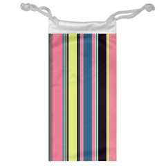 Seamless Colorful Stripes Pattern Background Wallpaper Jewelry Bag