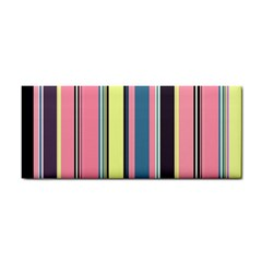 Seamless Colorful Stripes Pattern Background Wallpaper Cosmetic Storage Cases