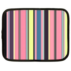 Seamless Colorful Stripes Pattern Background Wallpaper Netbook Case (xxl)