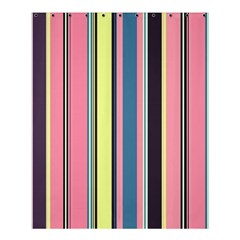 Seamless Colorful Stripes Pattern Background Wallpaper Shower Curtain 60  X 72  (medium)
