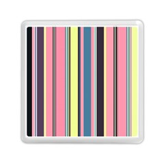 Seamless Colorful Stripes Pattern Background Wallpaper Memory Card Reader (square)