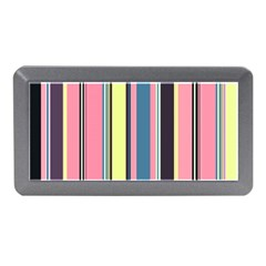 Seamless Colorful Stripes Pattern Background Wallpaper Memory Card Reader (mini)