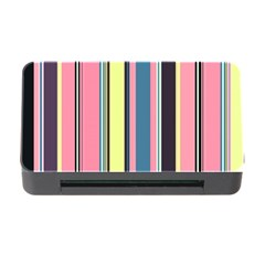 Seamless Colorful Stripes Pattern Background Wallpaper Memory Card Reader With Cf