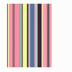 Seamless Colorful Stripes Pattern Background Wallpaper Large Garden Flag (Two Sides)