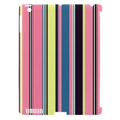 Seamless Colorful Stripes Pattern Background Wallpaper Apple iPad 3/4 Hardshell Case (Compatible with Smart Cover)