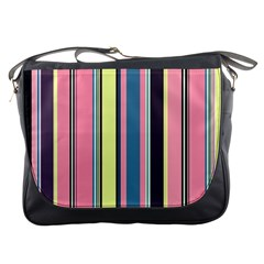 Seamless Colorful Stripes Pattern Background Wallpaper Messenger Bags
