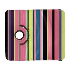 Seamless Colorful Stripes Pattern Background Wallpaper Galaxy S3 (Flip/Folio)