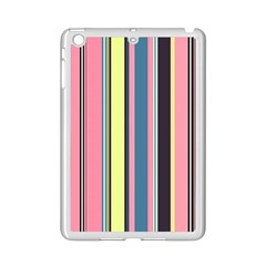 Seamless Colorful Stripes Pattern Background Wallpaper iPad Mini 2 Enamel Coated Cases
