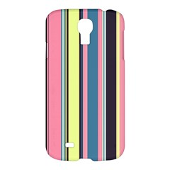 Seamless Colorful Stripes Pattern Background Wallpaper Samsung Galaxy S4 I9500/I9505 Hardshell Case