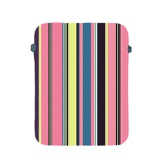 Seamless Colorful Stripes Pattern Background Wallpaper Apple iPad 2/3/4 Protective Soft Cases
