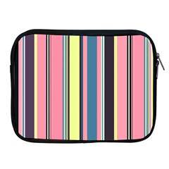 Seamless Colorful Stripes Pattern Background Wallpaper Apple Ipad 2/3/4 Zipper Cases